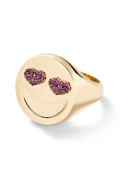 Lovestruck Signet Ring