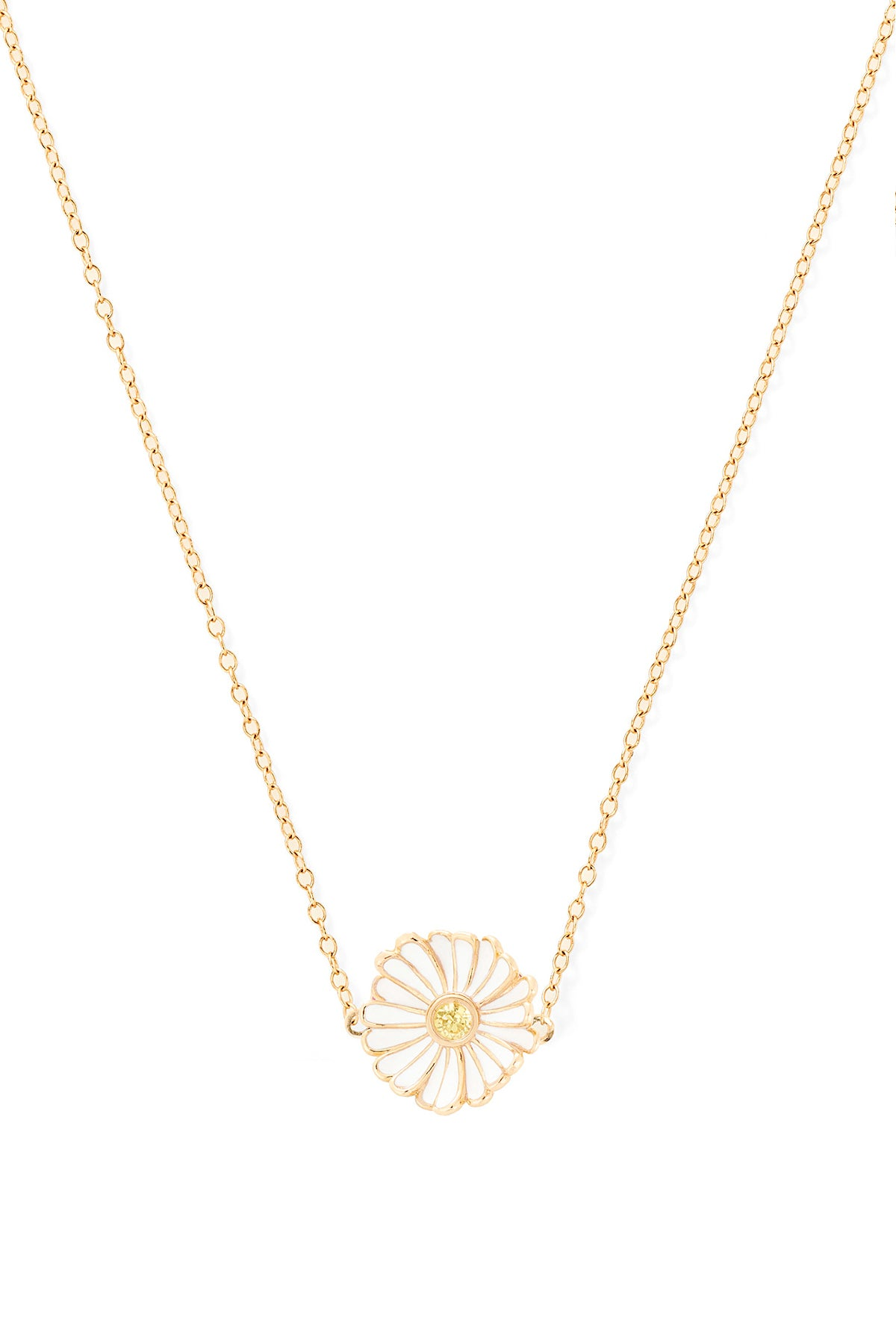 Tiny Daisy Necklace