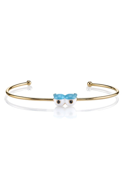MPH Wire Bangle with Lids & Lashes