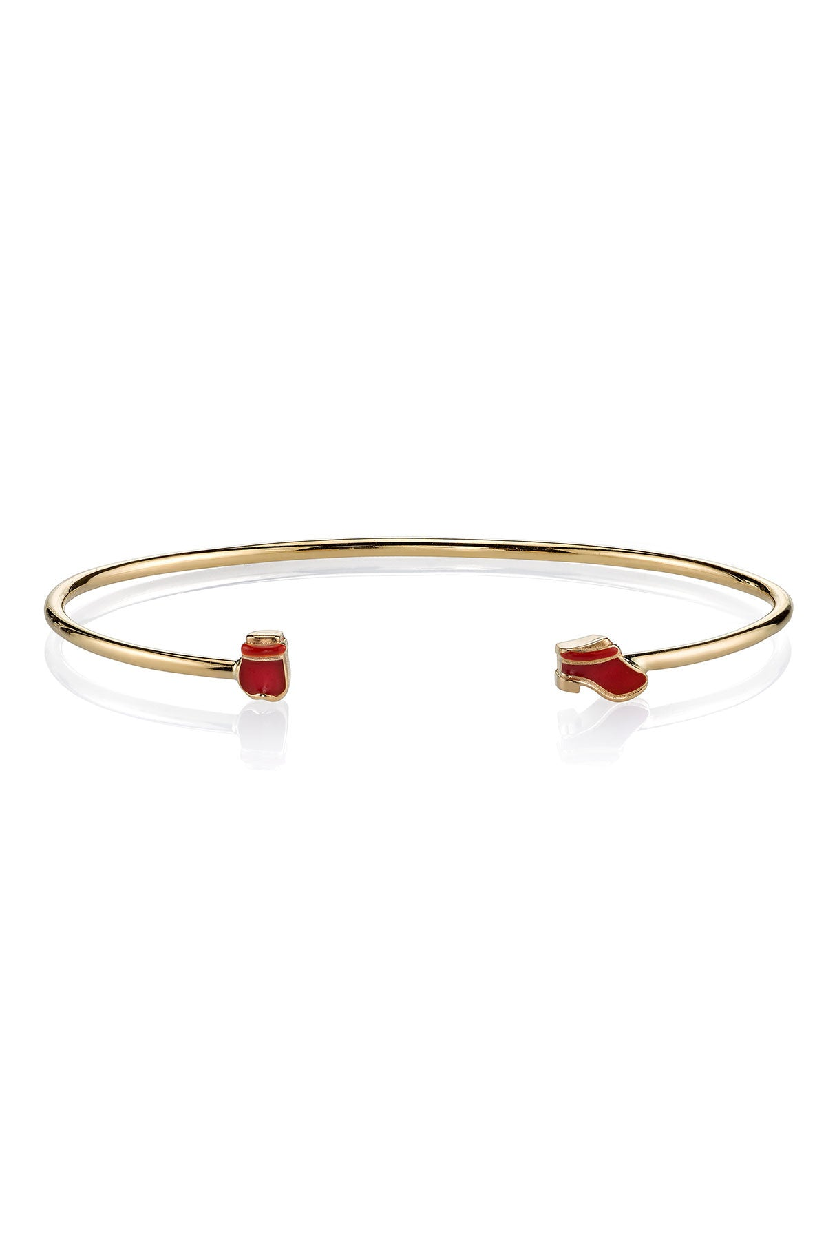 Mr. Potato Head Wire Bangle with Mrs. Red Shoes