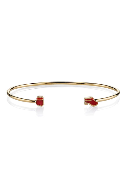 MPH Wire Bangle with Mrs. Red Shoes