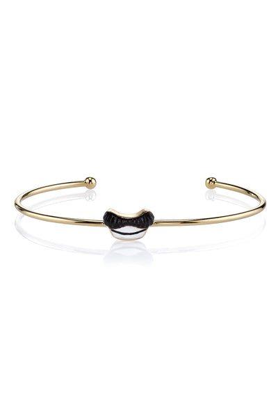 MPH Wire Bangle with Mustache