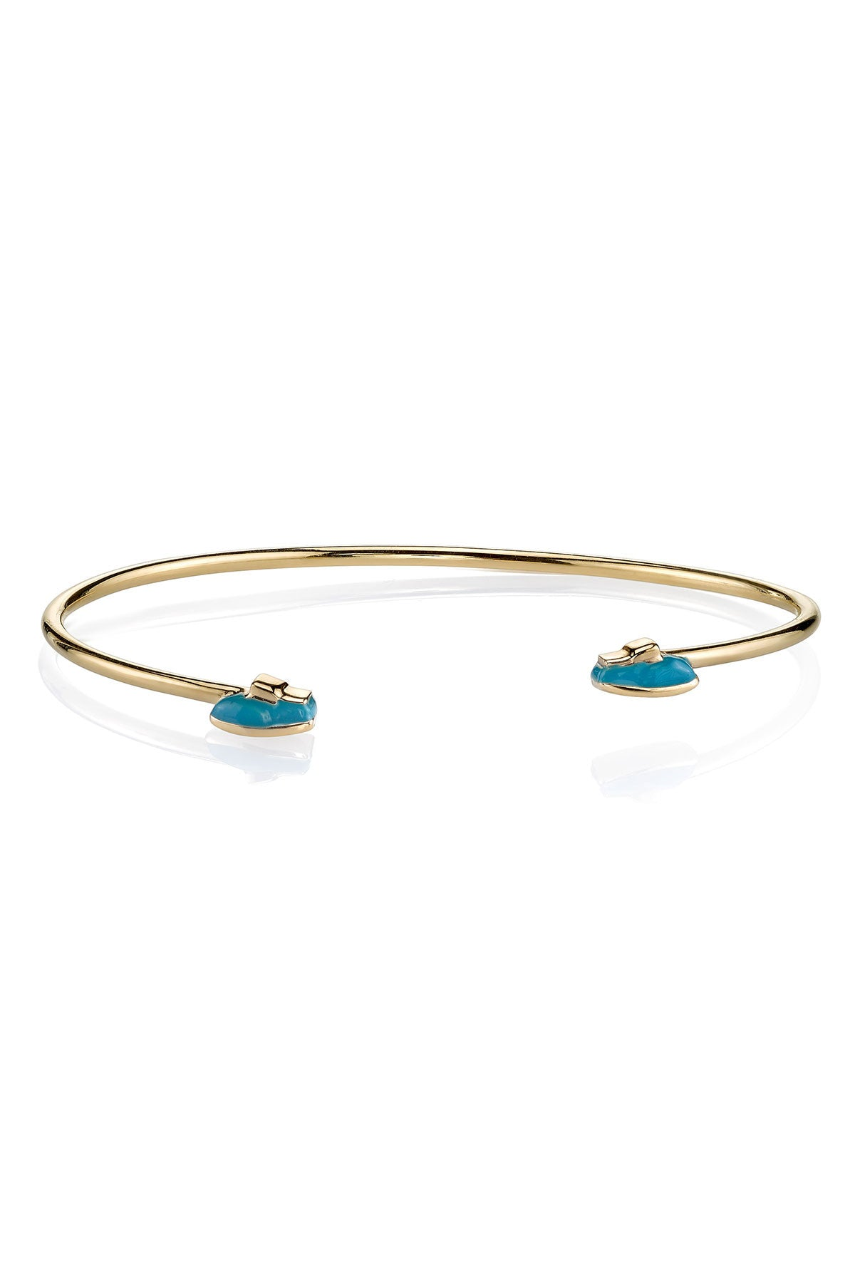 MPH Wire Bangle with Mr. Blue Shoes
