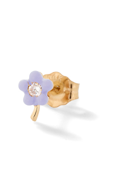 Small Flower Stud - Color Options