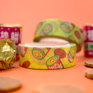 Assorted Candy Washi Tape Bundle