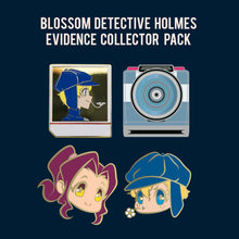 Load image into Gallery viewer, Blossom Detective Holmes Evidence Collector Hard Enamel Pin Set [PRE-ORDER]