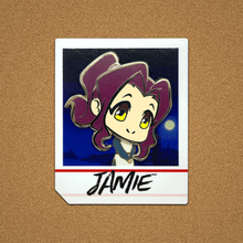 Load image into Gallery viewer, Chibi Jamie Blossom Detective Holmes Hard Enamel Pin