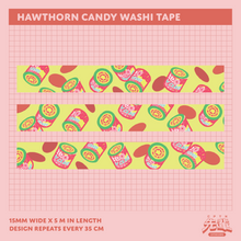 Load image into Gallery viewer, Hawthorn Candy Washi Tape