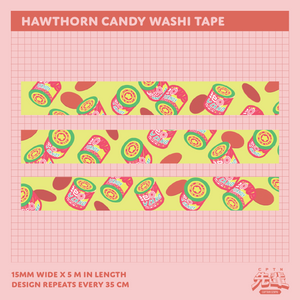 Hawthorn Candy Washi Tape