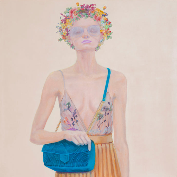 She loves your handbag, 2017 - Laura M. Mattos -  Roberg Galeria