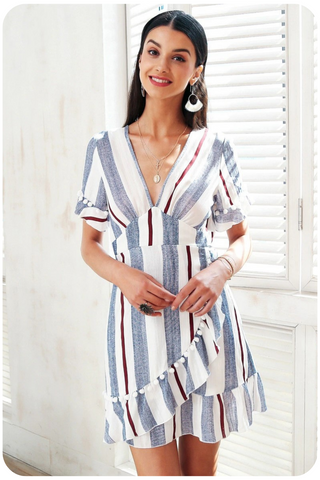 robe portefeuille chic