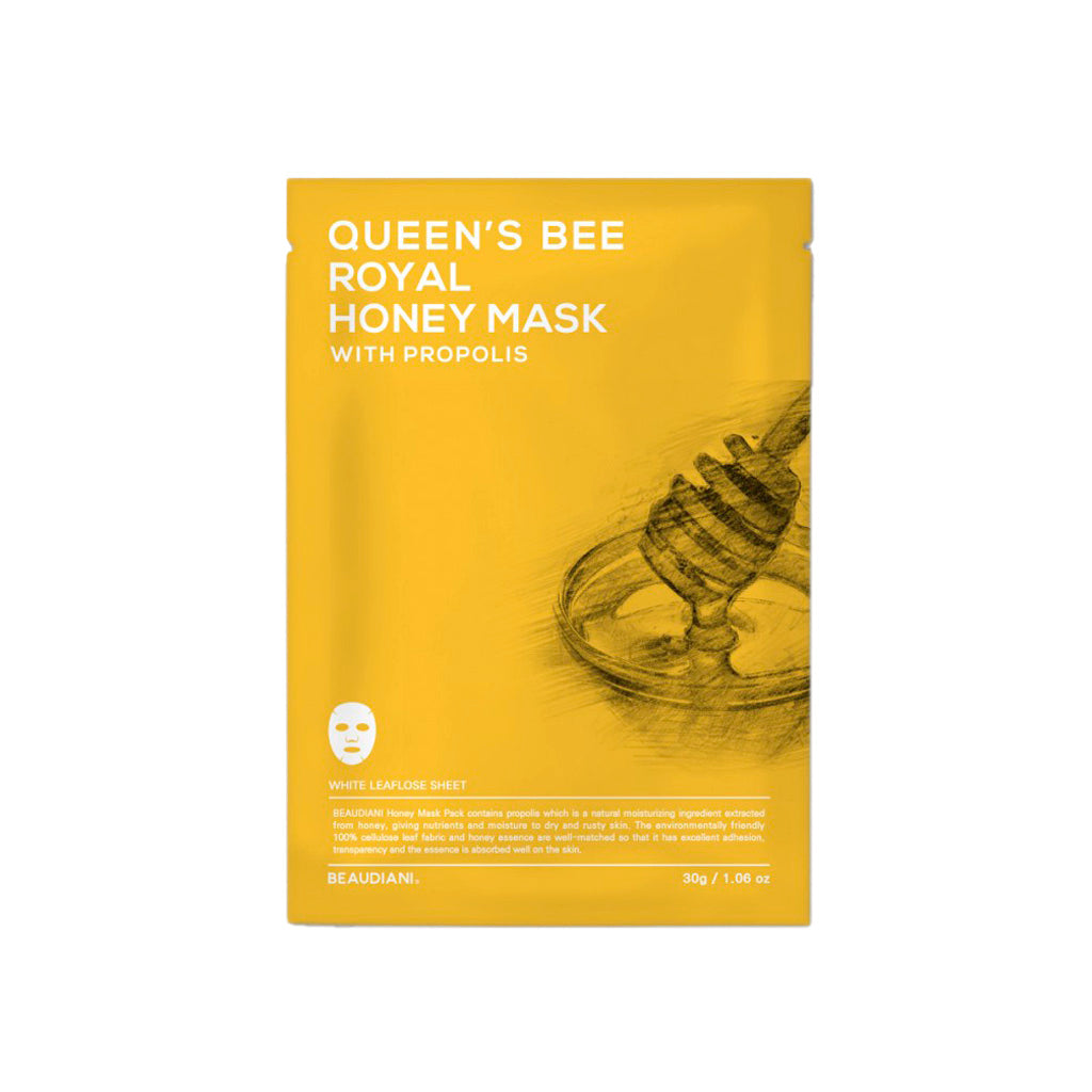 beaudiani-queens-bee-royal-honey-propolis-facial-mask-mascarilla-facial-miel-piel-apagada-muy-seca-maduras-deshidratada