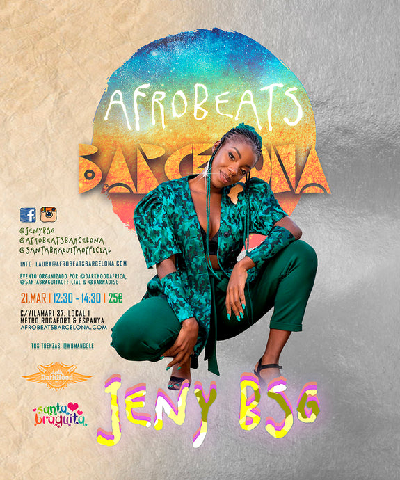 Jeny BSG Workshop en Afrobeats Barcelona