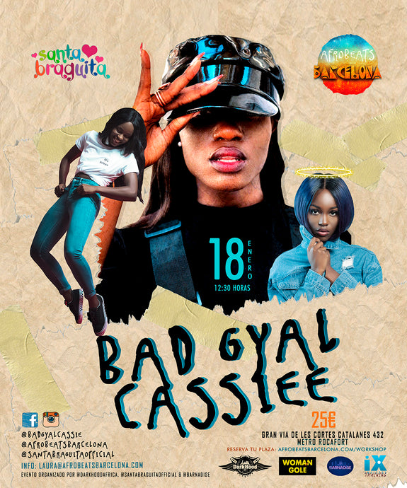(Oferta grupo 5) Bad Gyal Cassiee Workshop en Barcelona