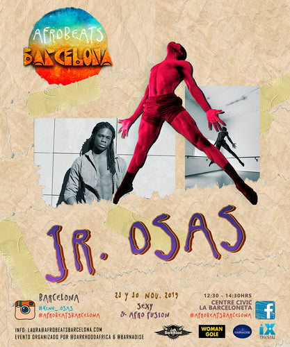 Jr. Osas (noviembre) Sexy & Afro Fusion Workshop