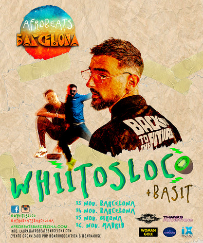 Whiitos Loco + Basit Workshop en Barcelona