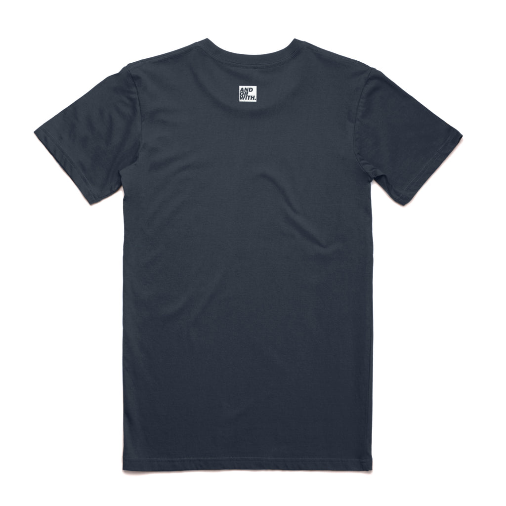 Statement-Tee-Organic-Navy-andorwith-surf-skate-wear