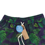 Going Troppo Beach Boardies Midnight Blue