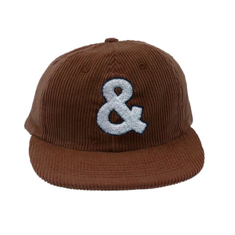 And Baseball Corduroy Cap Brown