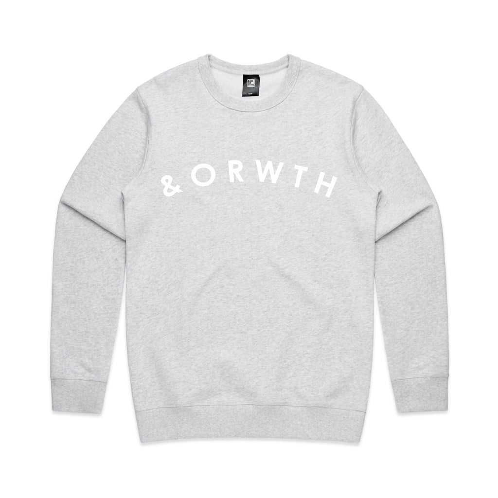 arc-crew-sweater-white marle-andorwith-surf-skate-wear