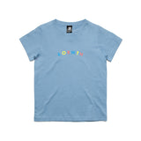 Kids/youth Friends Tee Carolina Blue