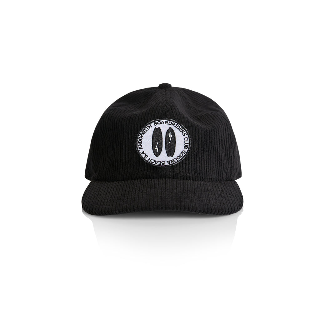 Boardriders Baseball Corduroy Cap Black