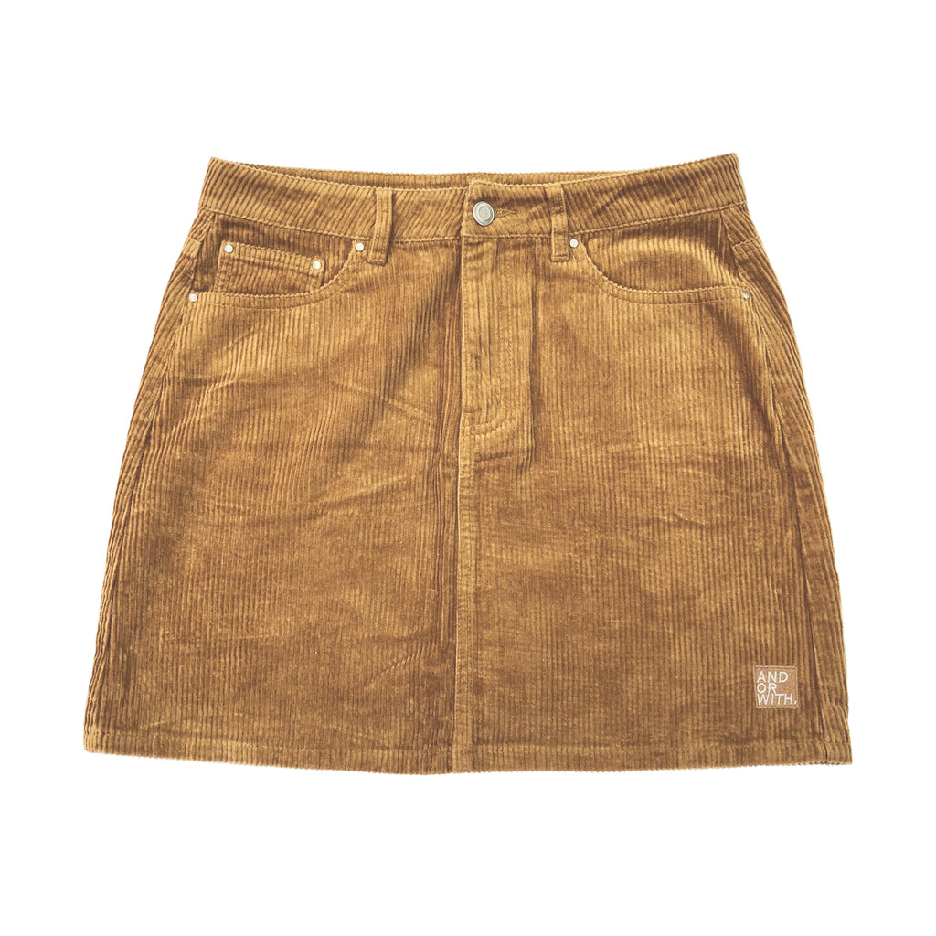 Beach Bum Corduroy Skirt Sand