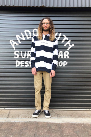 Family Striped Rugby Jumper