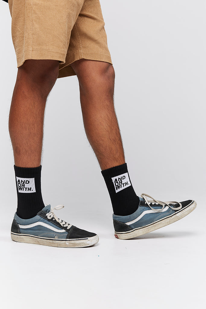 Logo Socks Black