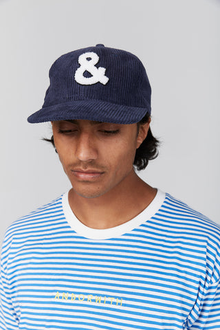 And Baseball Corduroy Cap Navy