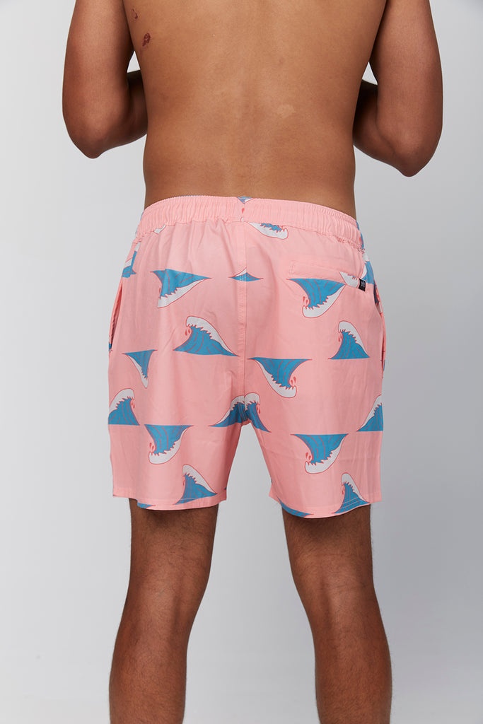 waves-pink-recycled-trash-board-shorts-andorwith-surf-beach-wear