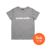 Kids/Youth Statement Tee Heather Grey