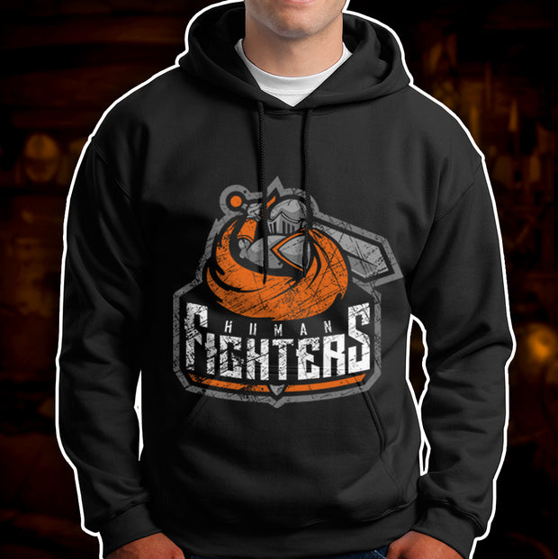BATTLEWORN HUMAN FIGHTERS - Hoodie
