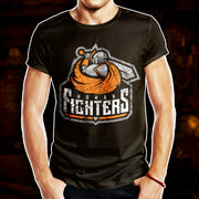 BATTLEWORN HUMAN FIGHTERS - T-Shirt