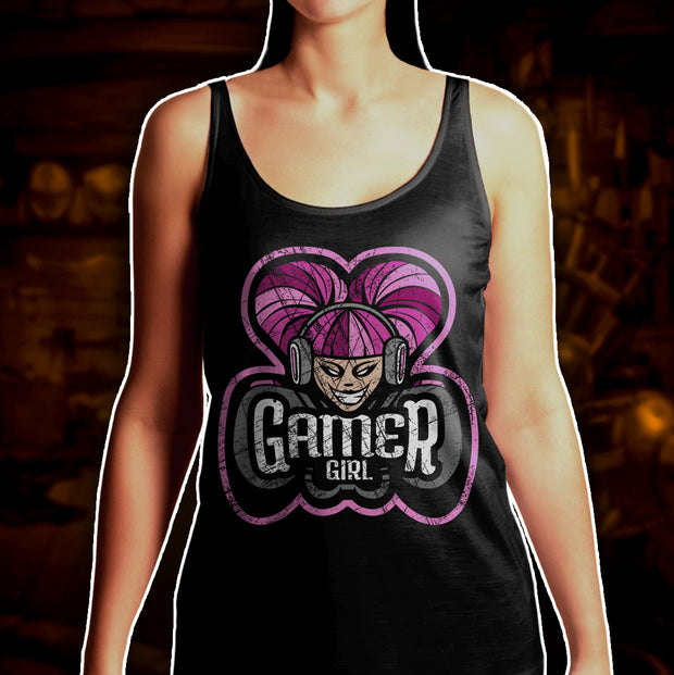 BATTLEWORN GAMER GIRLS - Tank Top