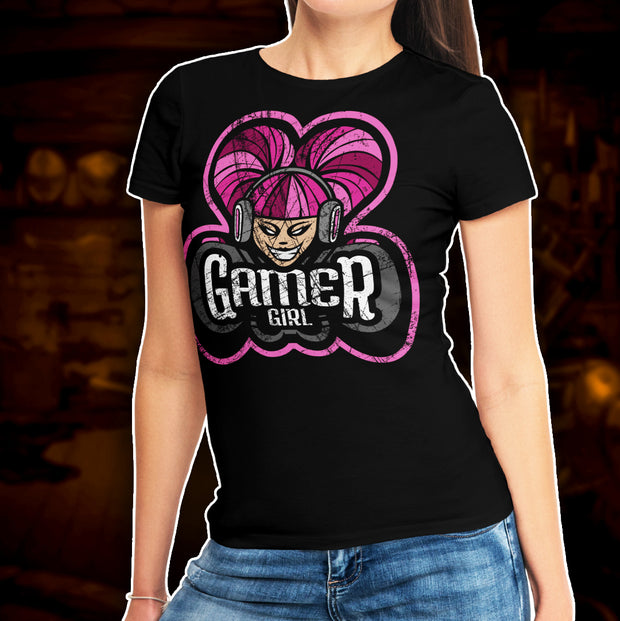 BATTLEWORN GAMER GIRLS - T-Shirt