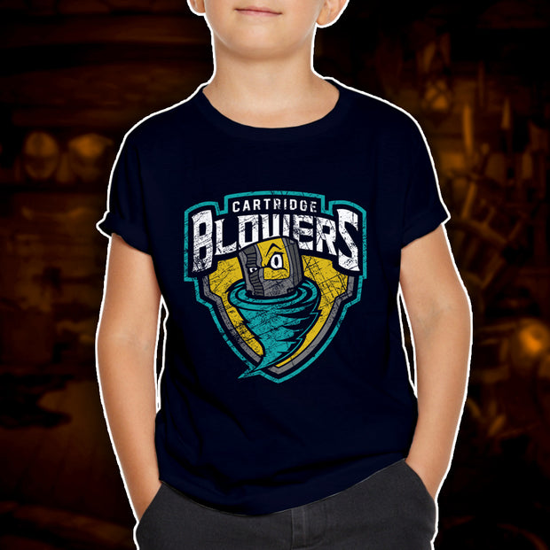 BATTLEWORN CARTRIDGE BLOWERS - Youth T-Shirt