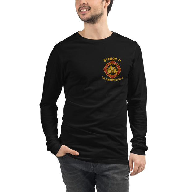 Unisex Long Sleeve - Dark Colours