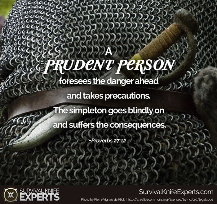 The Prudent Person – Survival Knife Experts