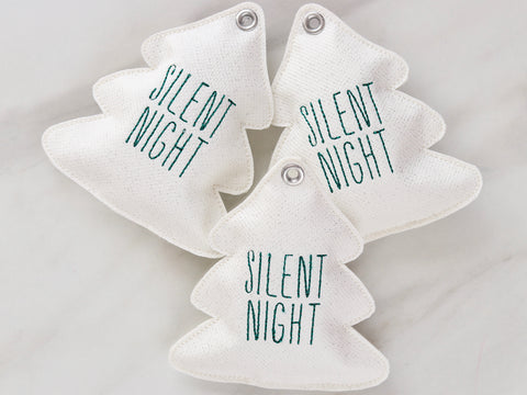 "Tannenbaum ""Silent Night"" Dekoration"
