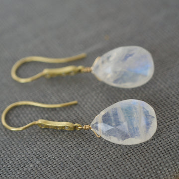 Moon Drop Earrings