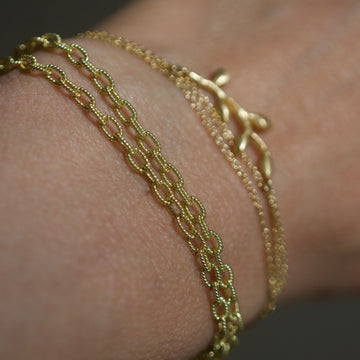 Heavy chain bracelet/necklace