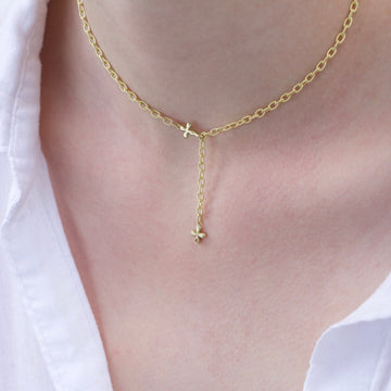 Heavy chain necklace