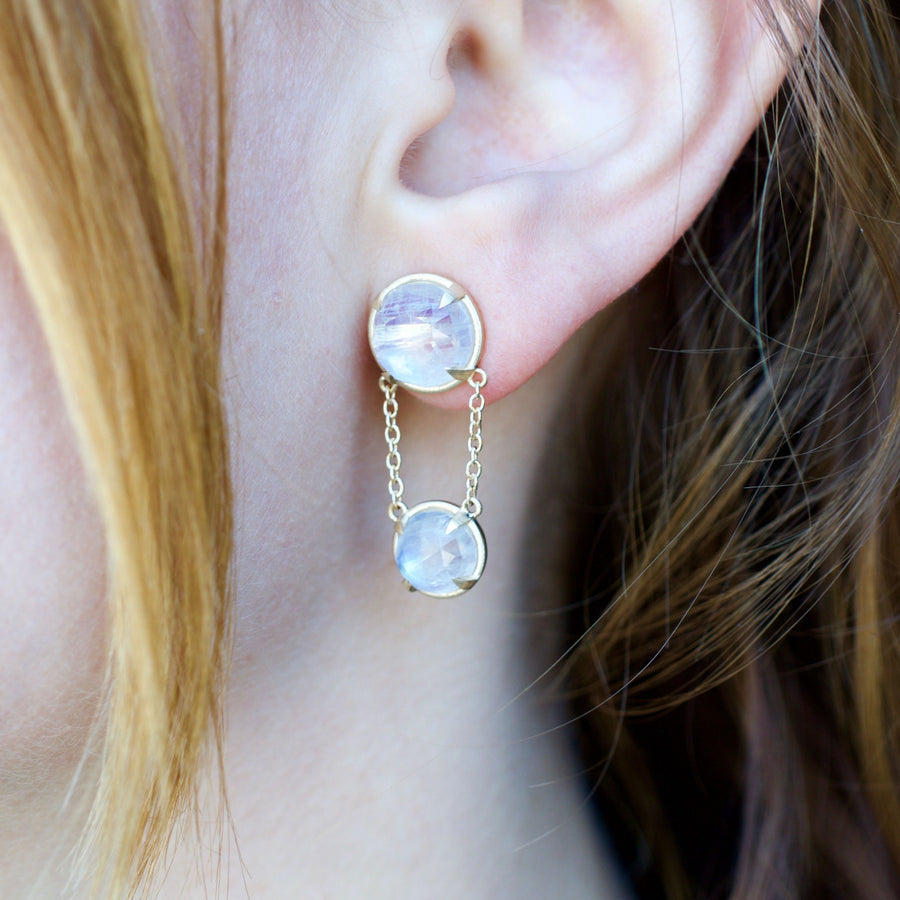 Moonstone Earrings- SUITS
