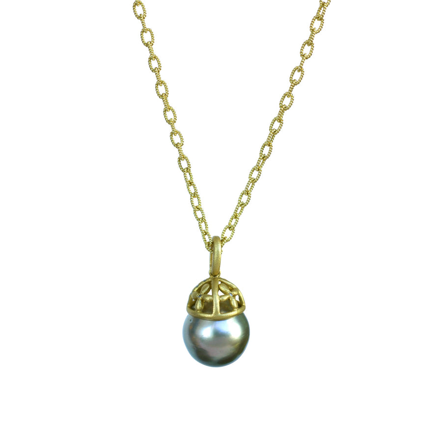 Queen Tahitian pearl necklace