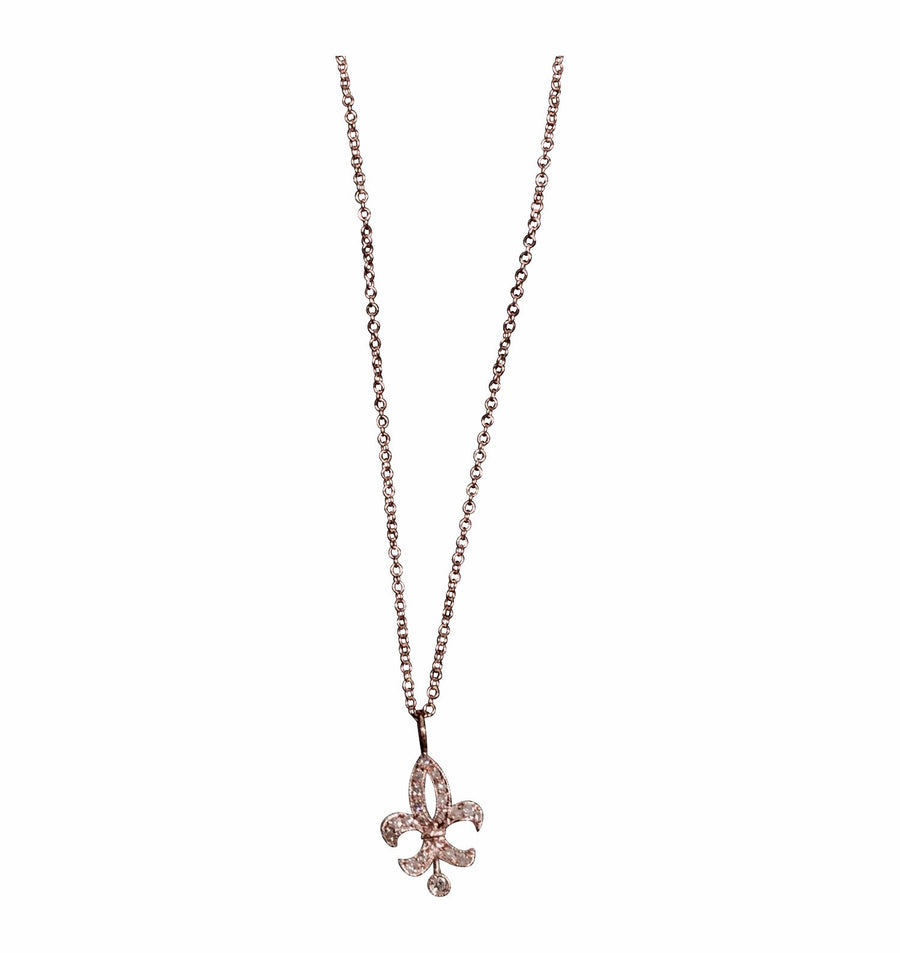 Fleur de lys necklace- SUITS