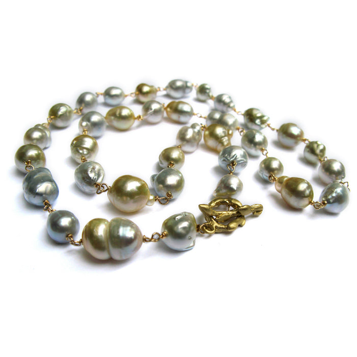 Wrapped South Sea Pearl Strand