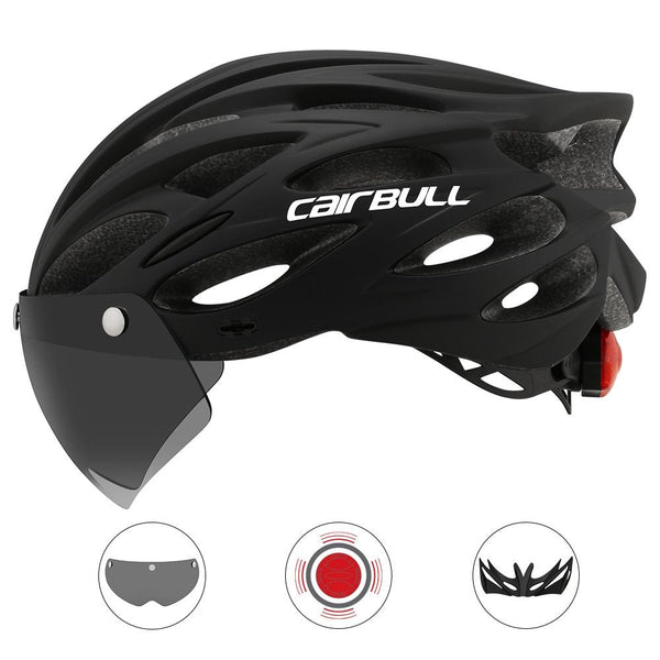 Capacete Ciclismo com LED e Viseira - MAGNETIC HELMET [variant_title]