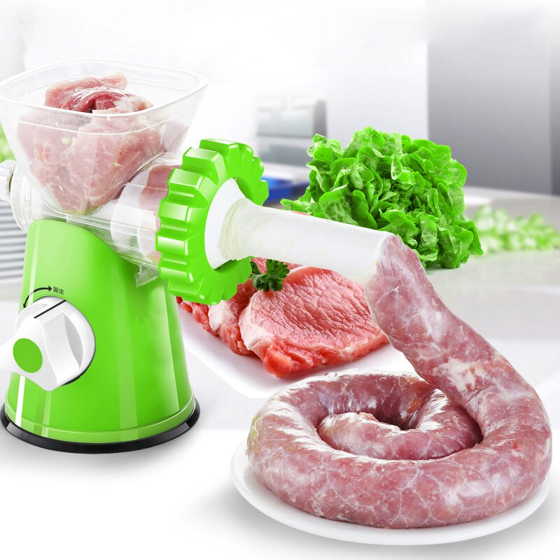 Moedor de Carnes Manual Multifuncional 2 em 1 99 SHOP