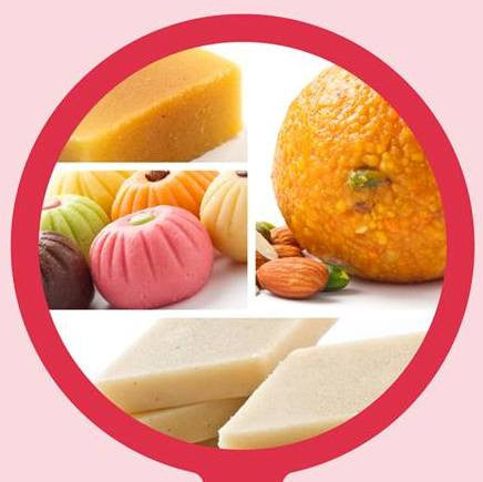 Assorted Sweets from Sri Krishna Sweets